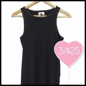 ⭐3/$25⭐Old Navy Tank Top Gold Speckle Trim